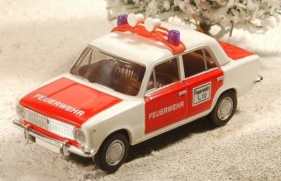 Lada 1200 als Modell der Firma Busch. Foto: Olaf Preuschoff