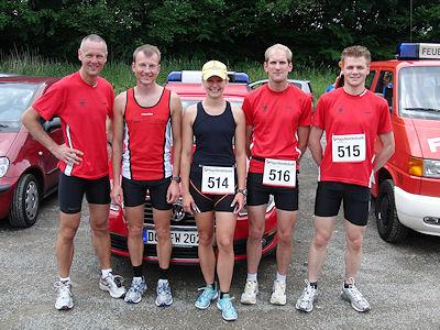 Die erfolgreichen Läufer. Foto: Stadt Dortmund