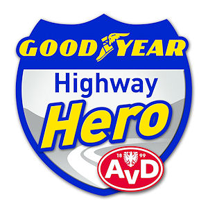 "Logo ""Highway Hero""-Wettbewerb. Grafik: Goodyear"