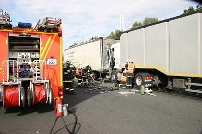 Unfallserie bei Hannover. Foto: Feuerwehr Hannover