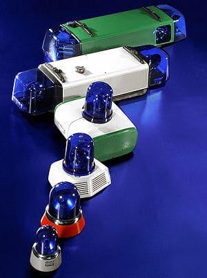 Blaulichter aus dem Hause Hella. Foto: Hella