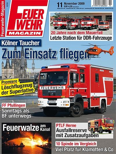 Feuerwehr-Magazin 11/2009