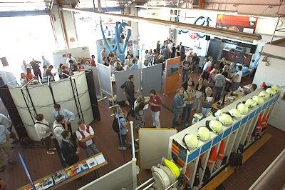 Jobbörse im Lemwerder. Foto: Preuschoff