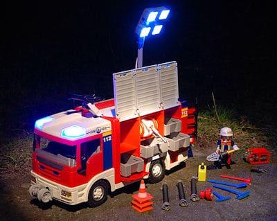 Neues Löschfahrzeug von Playmobil. Foto: Rüffer