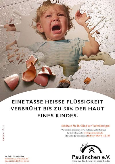 Das neue Kampagnen-Plakat von Paulinchen.