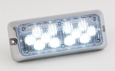 "us dem Programm von Techno Design: LED-Umfeldbeleuchtung: ""Impact 12 LED"". Foto: Techno Design Wilmering"