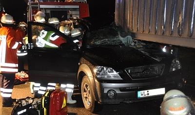 Unfall bei Stade. Foto: Polizeiinspektion Stade
