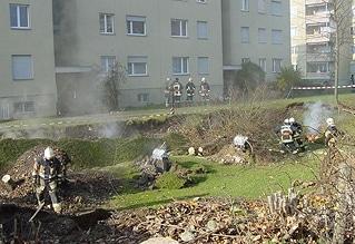 Unglück von Gretzenbach (Schweiz). Archivfoto: Feuerwehr