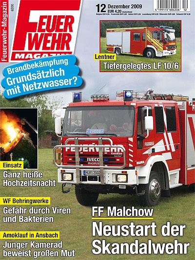 Feuerwehr-Magazin 12/2009.