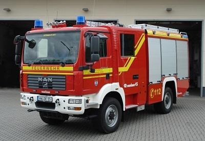 HLF 10/10 der FF Dernbach auf MAN