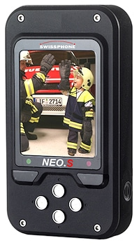 Digitaler Meldeempfänger NEO.S. Foto Swissphone