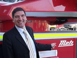Michael Kristeller wird neuer Geschäftsführer von Metz Aerials. Foto: Rosenbauer