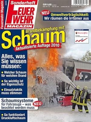 """Sonderheft """"Brandbekämpfung mit Schaum"""" - völlig aktualisiert und überarbeitet."""