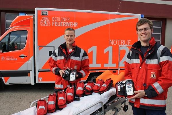 CO-Pulsoximeter bei Berliner Feuerwehr. Foto: Berliner Feuerwehr