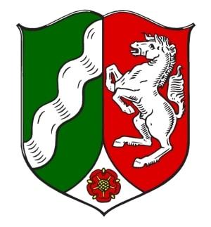 Wappen NRW.