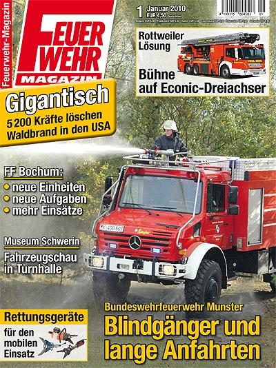 Feuerwehr-Magazin 1/2010