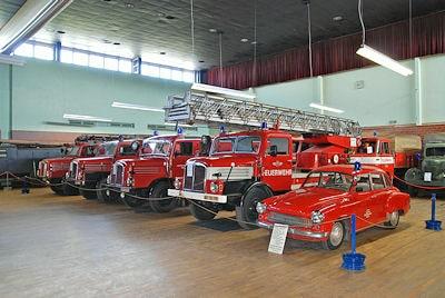 Feuerwehrmuseum in Schwerin. Foto: Michael Rüffer