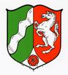 Wappen Nordrhein-Westfalen.