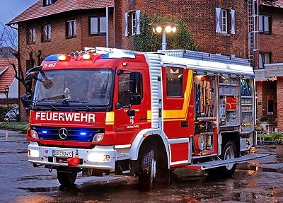 HLF der Feuerwehr Südlohn. Foto: Stephan Konjer