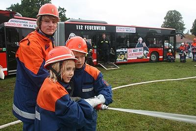 Faszination Jugendfeuerwehr. Foto: JF Bremen