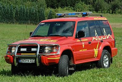 Neuer Komandowagen der FF Werneck. Foto: A. Müller