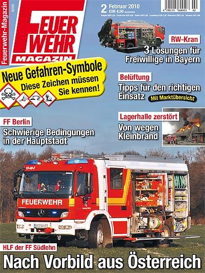 Eeuerwehr-Magazin 2/2010