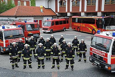 Freiwillige Feuerwehr Berlin. Foto: Holger Bahlmann