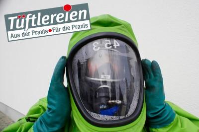 Der Tüftlerpreis 2010 der vfdb und des Feuerwehr-Magazins. Foto: Hegemann