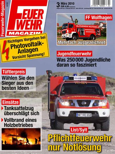 Feuerwehr-Magazin 3/2010