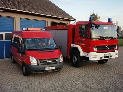 MTF und TLF 16/24-Tr der FF Heiligenfelde. Foto: Tim Lehrfeld/Feuerwehr