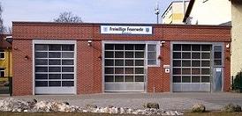 Mühlenbecker Feuerwehrhaus. Foto: FF Mühlenbeck