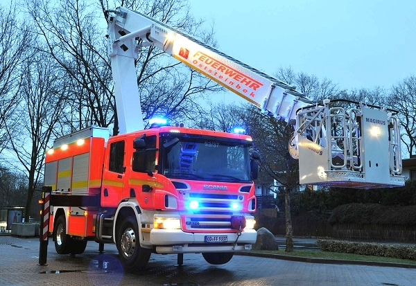 Die Feuerwehr Oststeinbek im Kreis Stormarn stellte einen Iveco Magirus Multistar in Dienst. Foto: Christian Nimtz