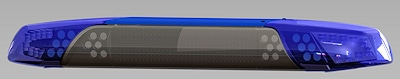 Mit LED-Technik ausgestattet: neuer Lichtbalken DBS 4000 von Hänsch. Foto: Hänsch