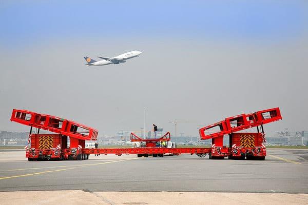 """Das Bergesystem """"ARTS-2 X"""" ist auch für den Airbus A380 geeignet. Foto: Fraport AG"""