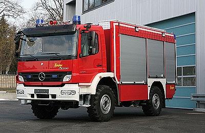 Neues TLF 16/24 Tr der Feuerwehr Nittenau. Foto: Ziegler