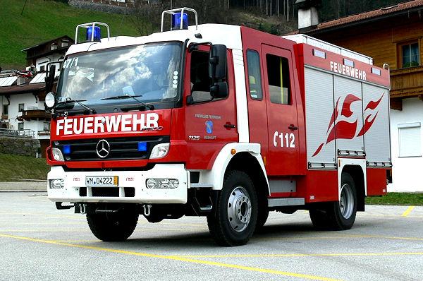 LF 10/6 der Feuerwehr Seeshaupt - ähnlich werden auch die neuen Fahrzeuge für Hessen aussehen. Foto: Empl