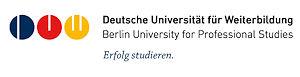 Logo Deutsche Universität für Weiterbildung, Berlin