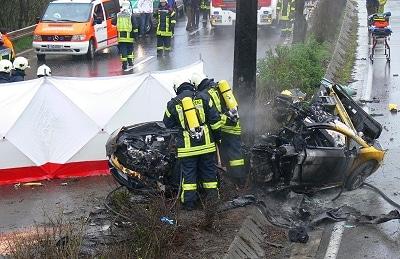 Tödlicher Unfall in Wuppertal. Foto: Fichte