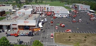 Ausgebautes Firmengelände von Walser in Rankweil. Foto: Walser   GmbH
