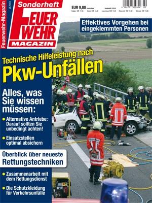 """Sonderheft """"Technische Hilfeleistung nach Pkw-Unfällen""""."""