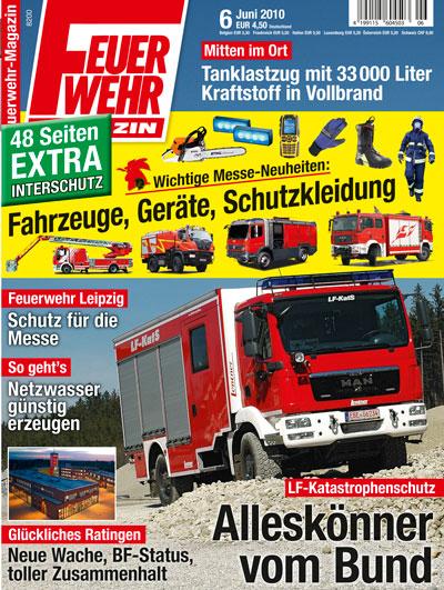 Feuerwehr-Magazin 6/2010