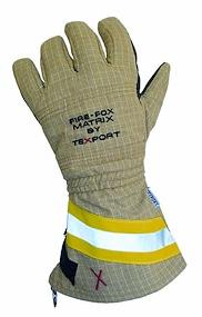 """Oberstoff aus PBI Matrix: neuer Feuerwehrhandschuh """"Fire Fox Matrix"""" von Texport. Foto: Texport"""