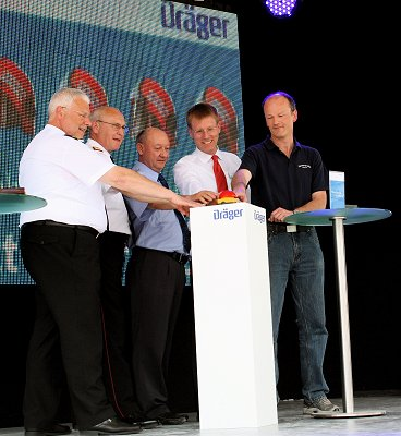 Startschuss des Dräger Website-Wettbewerbes. Foto: Patzelt