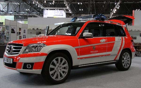 Neuer Kommandowagen für Leipziger Feuerwehr. Foto. Timo Jann