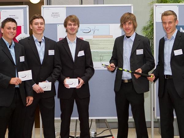 Schulprojekt-Gruppe. Foto: business@school