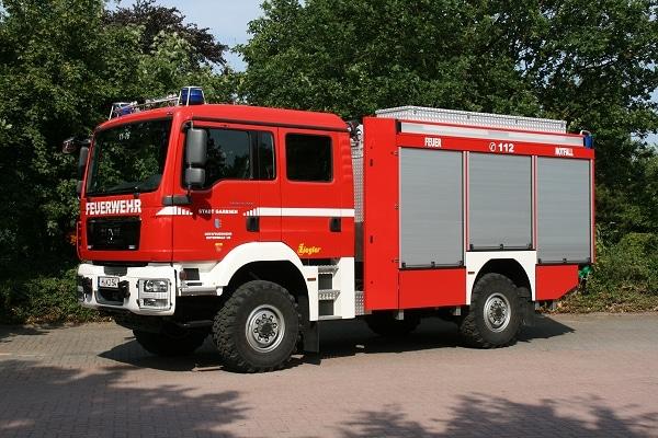 Das neue TLF 20/25 auf MAN TGM 13.240 von Ziegler. Foto: Stefan Müller