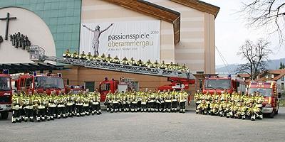 Freiwillige Feuerwehr Oberammergau. Foto: Hub