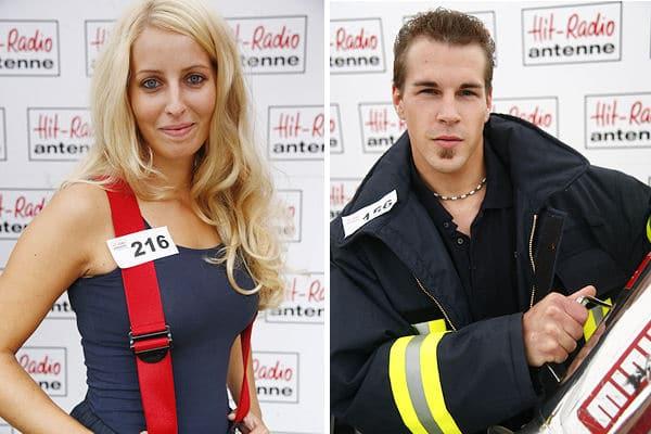 """Janine Schipper und Rainer Dobusch sind von """"Hit-Radio Antenne"""" als """"sexieste Feuerwehrleute Niedersachsens"""" geehrt worden. Fotos: Hit-Radio Antenne"""