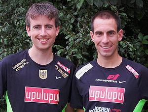Markus Kesseler und Matthias Jahn. Foto: privat