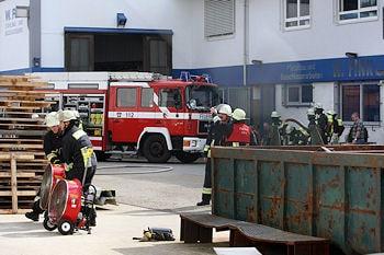 Verpuffung in Nürnberg: Zehn Menschen erlitten dabei Verletzungen. Foto: News5
